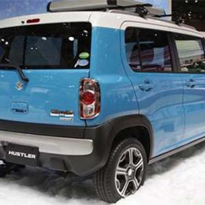 В Японии начнут продавать маленький автомобиль Hustler