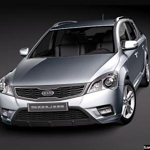 Автомобиль Kia Ceed Sporty Wagon 2012