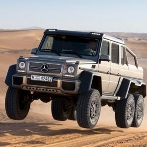 Dartz создал бронированный Mercedes-Benz G 63 AMG 6x6
