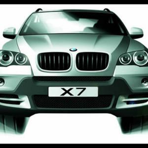 Чем порадует новый кроссовер BMW X7?